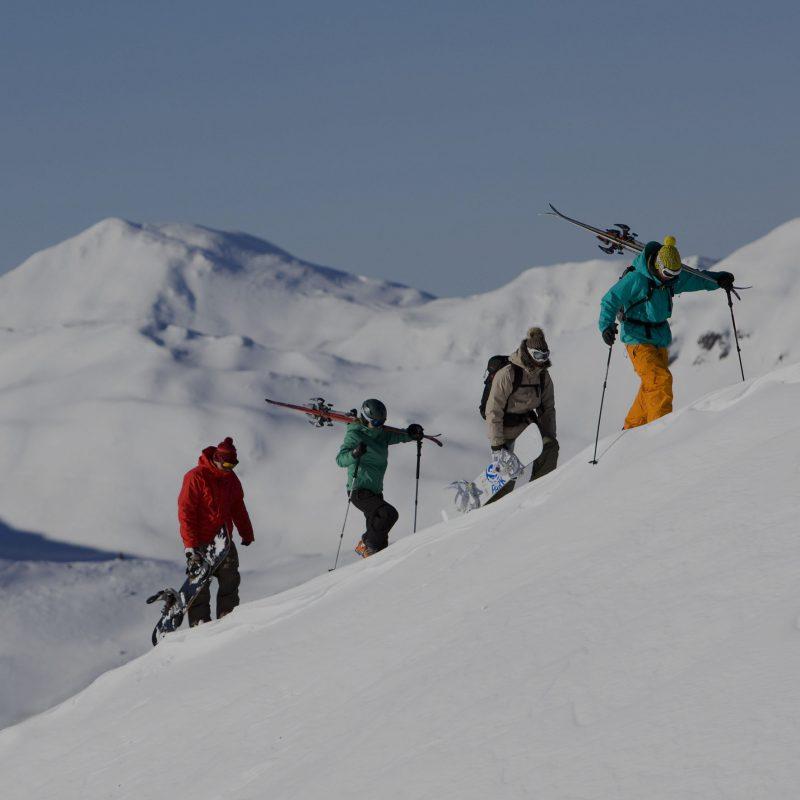 Aktivste Outdoorszene der Alpen